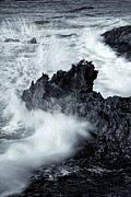 Spray Framed Prints - Carved by the Sea Framed Print by Mike  Dawson