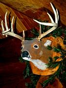 LeeAnn McLaneGoetz McLaneGoetzStudioLLCcom - Carved Deer Head