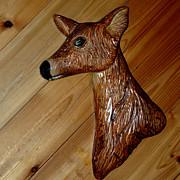 LeeAnn McLaneGoetz McLaneGoetzStudioLLCcom - Carved Doe Deer