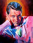 Movie Star Paintings - Cary Grant - Debonair by David Lloyd Glover