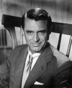 Aod Photo Framed Prints - Cary Grant (1904-1986) Framed Print by Granger