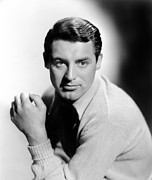 Colbw Framed Prints - Cary Grant, 1936 Framed Print by Everett