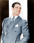Gray Suit Framed Prints - Cary Grant, Ca. Early 1930s Framed Print by Everett