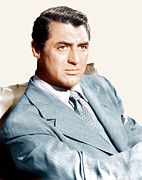 Lapels Framed Prints - Cary Grant, Ca. Early 1940s Framed Print by Everett