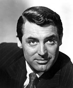 Pinstripe Suit Prints - Cary Grant Print by Everett