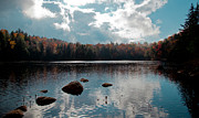 Adirondacks Photo Posters - Cary Lake Poster by David Patterson