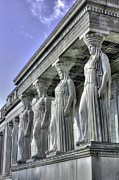 Caryatids Prints - Caryatids of Science and Industry Print by David Bearden