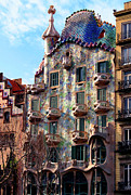 Casa Batllo Print by Vincent Abbey