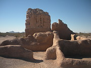Casa Grande Photos - Casa Grande Ruin by Pamela Leggett