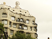 Us Propaganda Photos - Casa Mila in Barcelona by Yuki Komura