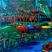 Riverwalk Posters - Casa Rio Poster by Patti Schermerhorn