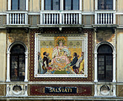 Casa Salviati -  Palace Of The Murano Glassblowers Print by Gregory Dyer