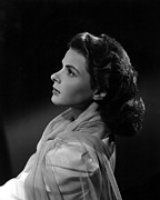 1942 Movies Prints - Casablanca, Ingrid Bergman, 1942 Print by Everett