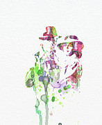 Famous Actor Prints - Casablanca Print by Irina  March