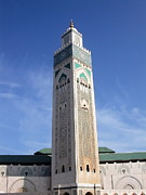 Moroccan Photos - Casablanca Mosk by Sophie Vigneault