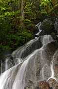 Waterfall Prints - Cascade from the Sky Print by Mike Reid