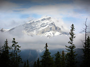 Floyd Menezes Framed Prints - Cascade Mountain Framed Print by Floyd Menezes
