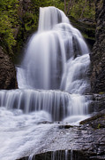Dingmans Falls Photos - Cascade by Sara Hudock