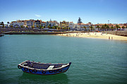Port Town Photo Framed Prints - Cascais Framed Print by Carlos Caetano