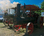Steam Engine Photos - Case and Eclipse by Mark Dodd