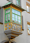 European Cities Prints - Casement Window into Weimars Past Print by Christine Till