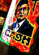 Man In Black Posters - Cash Poster by Chuck Taylor