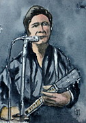 Singer Paintings - Cash in Color by Pete Maier