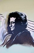South Johnny Cash Framed Prints - Cash Framed Print by Rob Hans