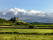 Travel Photography Prints - Cashel Castle On The Rock Of Cashel Print by Chris Hill