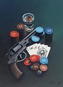 Casino Print by Alexander  Titorenkov