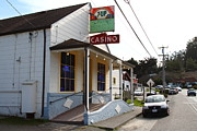 Old Country Roads Prints - Casino Bar and Grill . Bodega Bay . Town of Bodega . California . 7D12443 Print by Wingsdomain Art and Photography