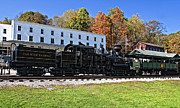 Wv Locomotive Photos - Cass Railway WV by Steve Harrington