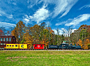 Wv Locomotive Photos - Cass Scenic Railroad by Steve Harrington