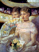 Aristocracy Photos - Cassatt: The Loge, 1882 by Granger