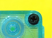 Cassette Tape Framed Prints - Cassette Tape Closeup Framed Print by Yali Shi