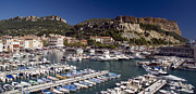Rhone Alpes Framed Prints - Cassis Harbour Framed Print by Rod Jones