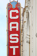 Eureka Valley Posters - Cast At The Castro Theater in San Francisco . 7D7616 Poster by Wingsdomain Art and Photography