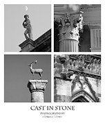 Medieval Entrance Posters - Cast in Stone Poster by Gordon Wood