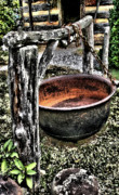 Tenn Prints - Cast Iron Pot 1 Print by Dennis Sullivan