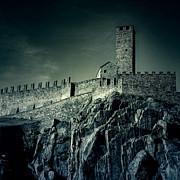 Unesco World Heritage Site Prints - Castelgrande Bellinzona Print by Joana Kruse