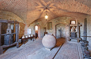 Brunello Prints - Castello Banfi Museum Print by Rob Tilley