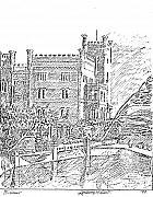 Castello Di Miramare Print by Anthony Meton