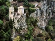 Erice Prints - Castello di Venere Print by Joe Bonita