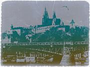 Castillo De Praga Print by Irina  March