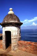 Old San Juan Photo Prints - Castillo de San Cristobal Print by Thomas R Fletcher