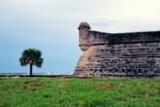 Castillo De San Marcos 2 Print by Thomas R Fletcher