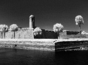 Jeff Holbrook Metal Prints - Castillo de San Marcos Metal Print by Jeff Holbrook