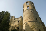 Castle Photos - Castle - Ardennes - Luxembourg by Urft Valley Art