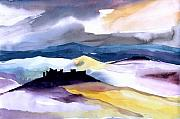 Clouds Mixed Media Originals - Castle by Anil Nene