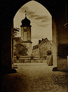 Antique Gate Posters - Castle Gate Poster by Heiko Koehrer-Wagner